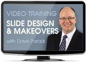Slide Design and Makeovers Guest Webinar by Dave Paradi